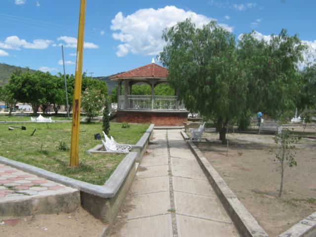 Parque de Santo Domingo Tianguistengo, Chazumba