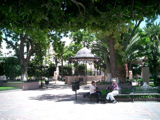 Jardin frente a la parroquia de lagos de moreno lagos de for Lagos de jardin